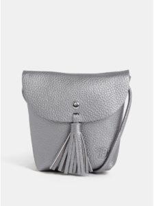 Crossbody kabelka v striebornej farbe Tom Tailor Denim Ida