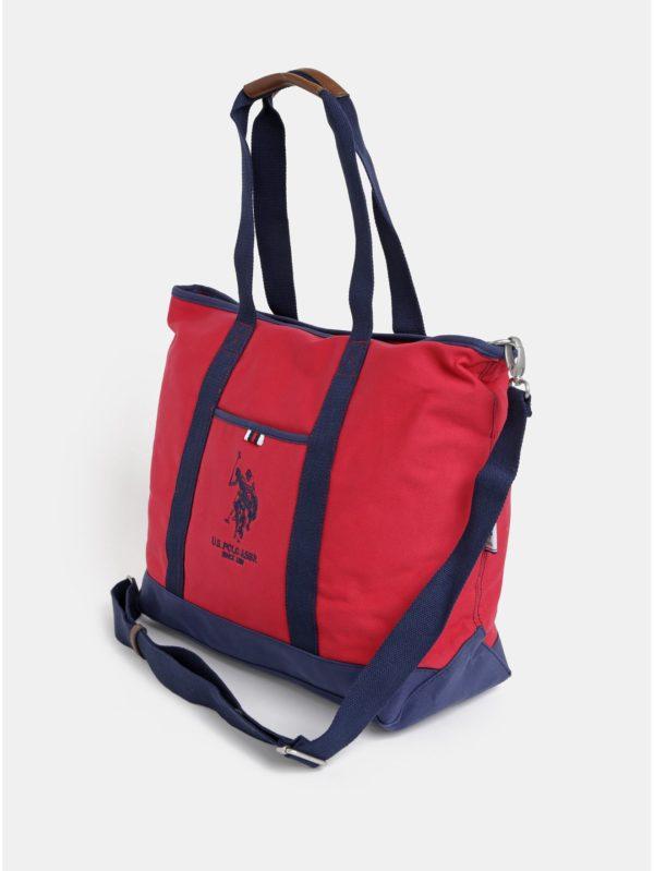 Červená dámska taška U.S. Polo Assn.