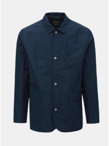 Tmavomodrá tenká bunda Burton Menswear London Hybrid