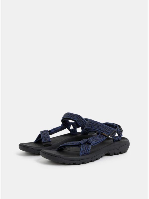 Tmavomodré pánske vzorované sandále Teva