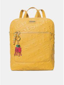 Horčicový batoh Desigual Colorama
