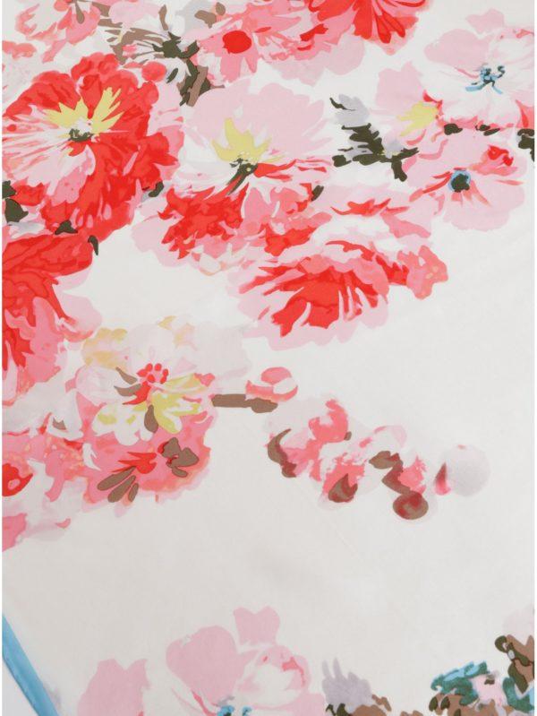 8e5c4aab1 Krémová dámska kvetovaná hodvábna šatka Tom Joule Bloomfield | Moda.sk