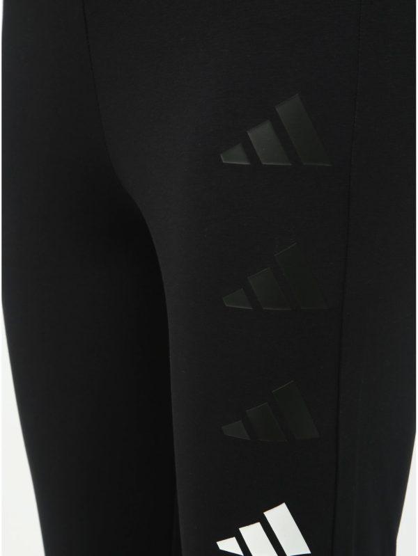 Čierne dámske legíny adidas Performanced The Pack