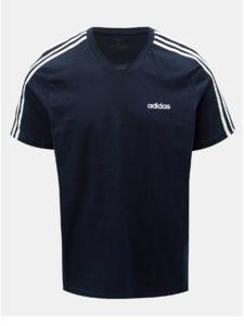 Tmavomodré pánske tričko adidas CORE Essentials