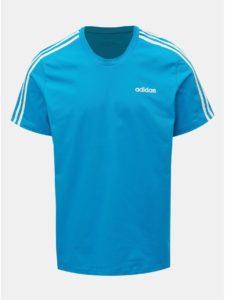 Modré pánske tričko adidas CORE Essentials