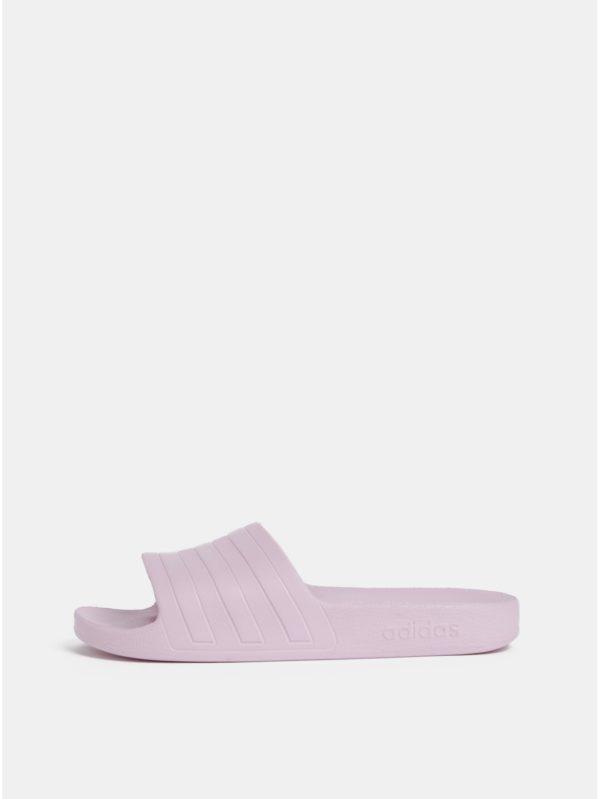Svetloružové dámske šľapky adidas CORE Adilette