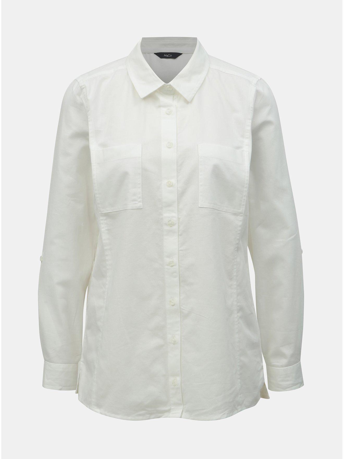 a18a0c5265 Biela košeľa M Co
