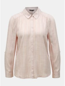 Ružová pruhovaná košeľa M&Co Petite