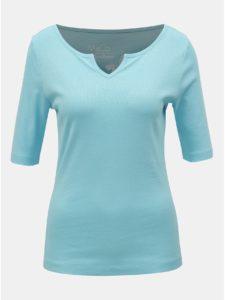 Svetlomodré basic tričko M&Co