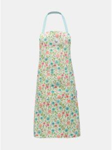 Biela kvetovaná zástera Cooksmart
