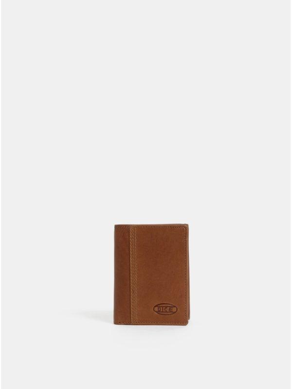 Hnedá pánska kožená peňaženka Dice Byron