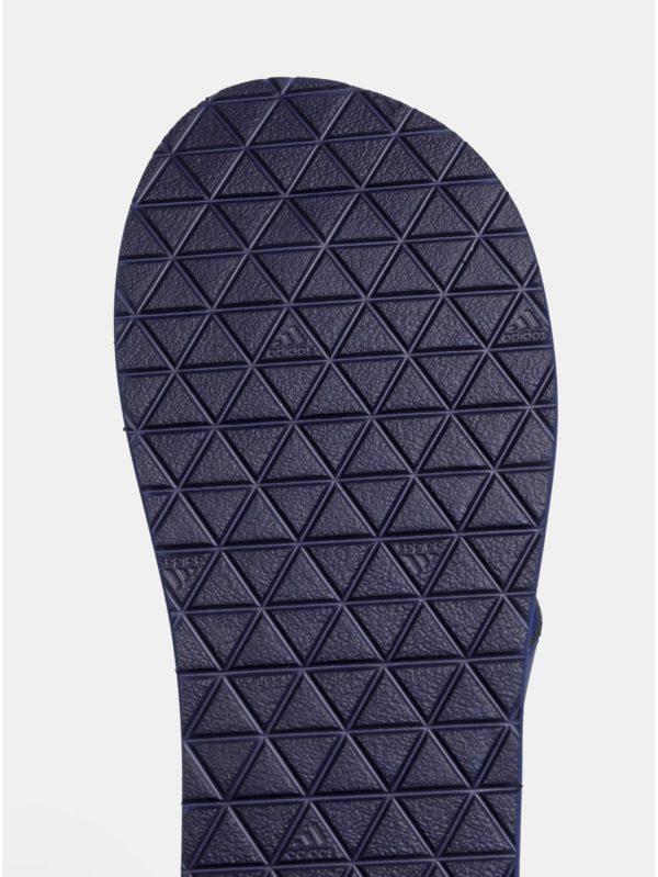 Tmavomodré pánske žabky adidas CORE Eezay