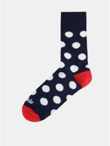 Tmavomodré bodkované ponožky Fusakle Guličkár fešák
