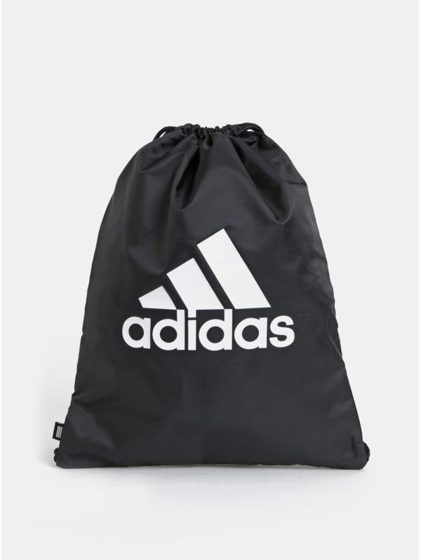 Čierny vak s potlačou adidas Performance Gym