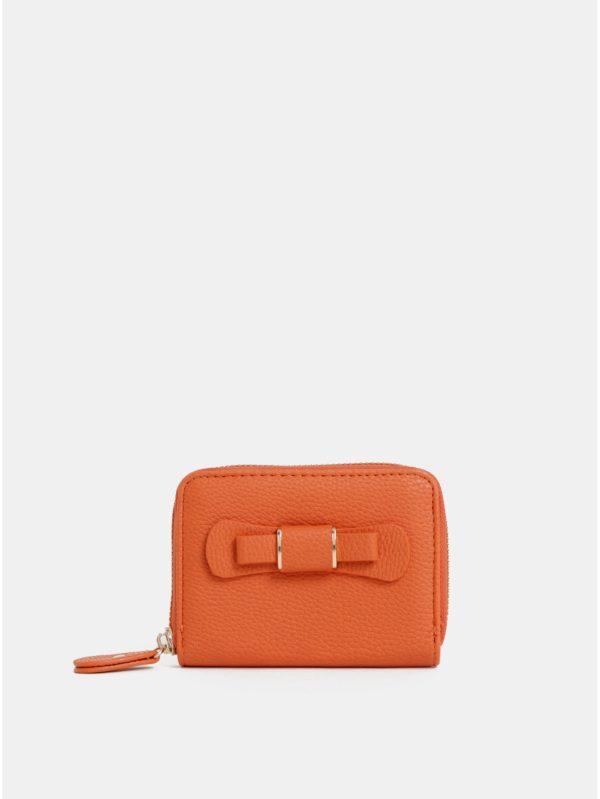 Oranžová peňaženka Dorothy Perkins