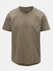 Hnedé oversize tričko ONLY & SONS Phil