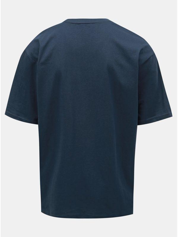 Tmavomodré oversize tričko ONLY & SONS Hurry