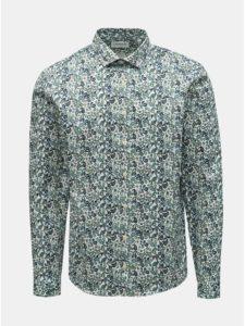 Zelená vzorovaná košeľa Lindbergh