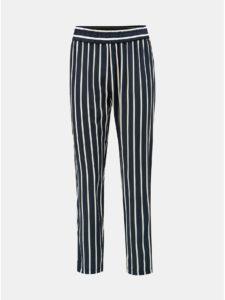 Tmavomodré pruhované nohavice Jacqueline de Yong Star