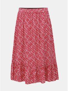 e7110768a6d3 Ružová kvetovaná sukňa Jacqueline de Yong Star Frill