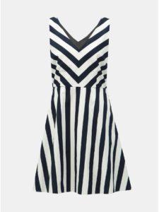 Bielo–modré pruhované šaty VERO MODA Maya