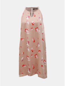Staroružové kvetované šaty ONLY Giza