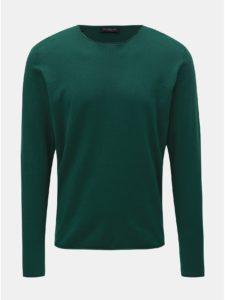 Zelený sveter Selected Homme Dome