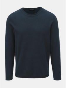 Tmavomodrý sveter Selected Homme Stoke