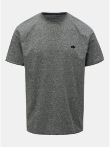 Sivé melírované tričko Raging Bull