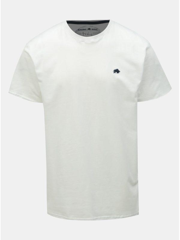 Biele tričko Raging Bull
