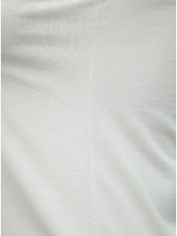 Biele basic tielko s čipkou Ulla Popken