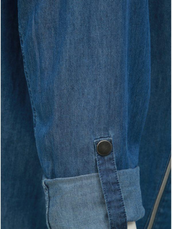 Modré rifľové sako Ulla Popken