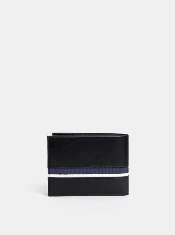 Čierna pánska kožená peňaženka Calvin Klein Jeans