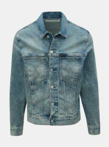 Modrá pánska rifľová bunda Calvin Klein Jeans