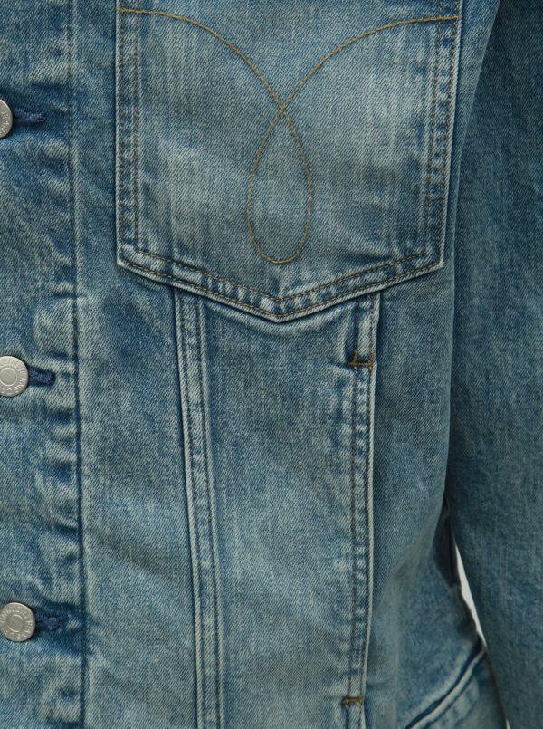 20b14ae04 Modrá pánska rifľová bunda Calvin Klein Jeans | Moda.sk