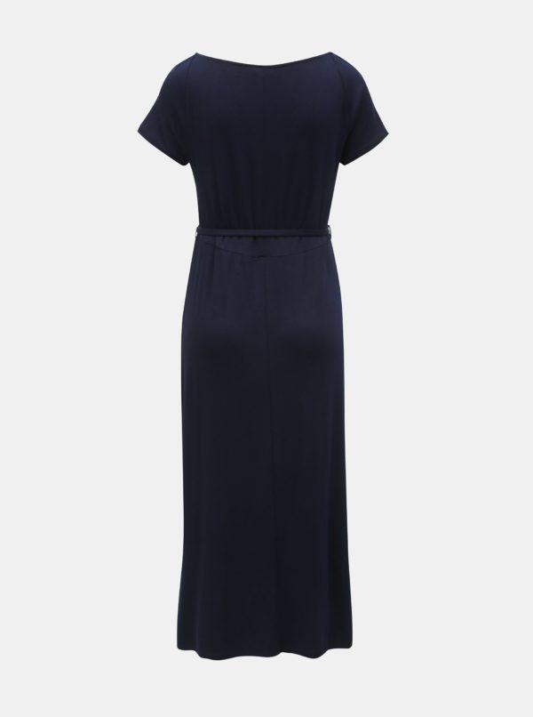 Tmavomodré tehotenské šaty Dorothy Perkins Maternity