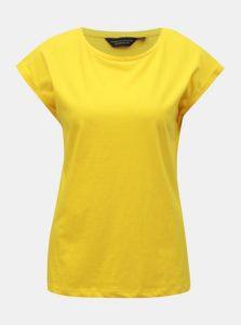 Žlté basic tričko Dorothy Perkins