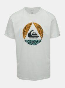 Biele regular fit tričko Quiksilver