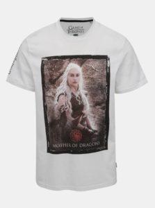Biele tričko ONLY & SONS Games of thrones