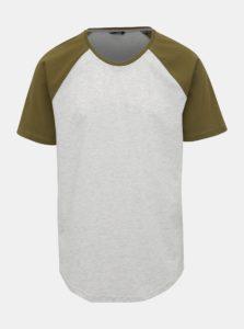 Svetlošedé žíhané tričko ONLY & SONS Logan