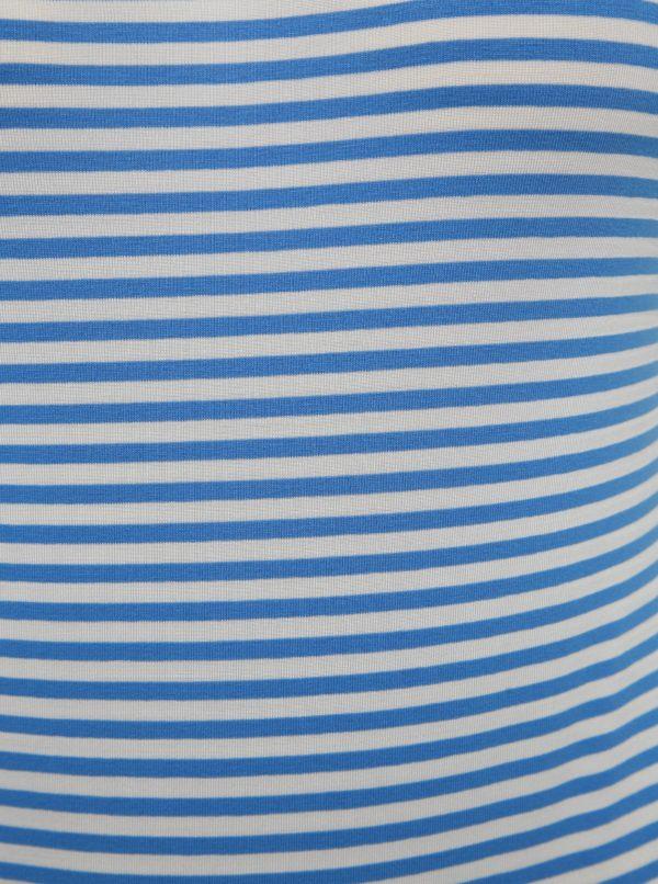 Bielo-modré pruhované body VERO MODA Ava