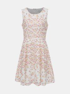 Biele krajkové kvetované šaty Apricot