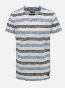 Bielo-modré pruhované tričko Blend