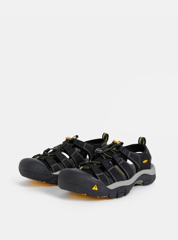 Čierne pánske sandále Keen Newport