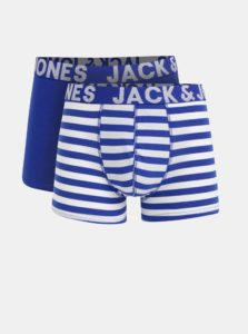 Sada dvoch modrých boxeriek Jack & Jones Jacy