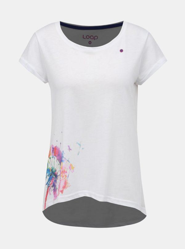 Biele dámske tričko LOAP Aliena