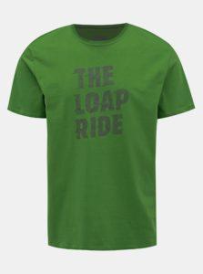 Zelené pánske tričko s potlačou LOAP Antony