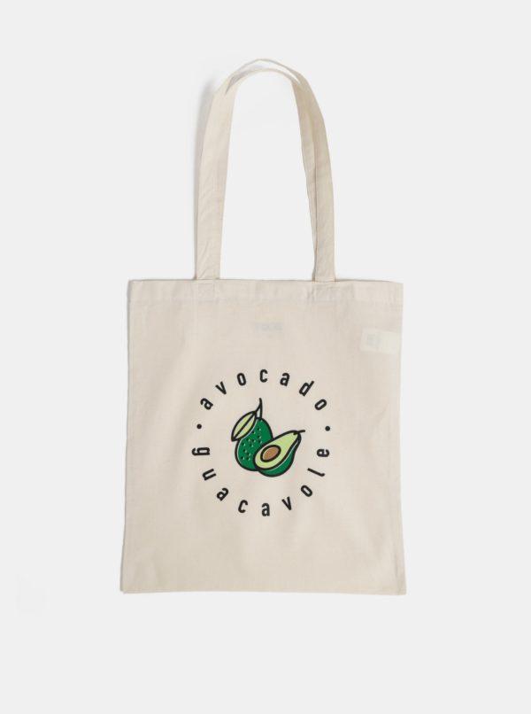 Béžová plátená taška ZOOT Original Guacavole
