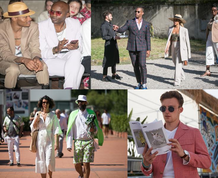 Ukážka streetstyle outfitov na Pitti Uomo