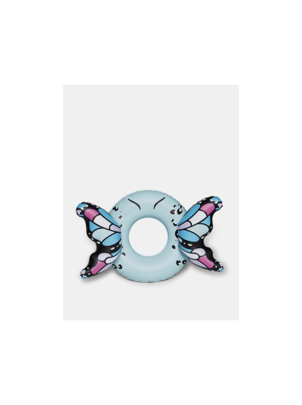 Modrý nafukovací kruh do vody v tvare motýľa BigMouth Inc.
